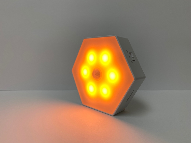 Motion Sensor Light - ON - Light