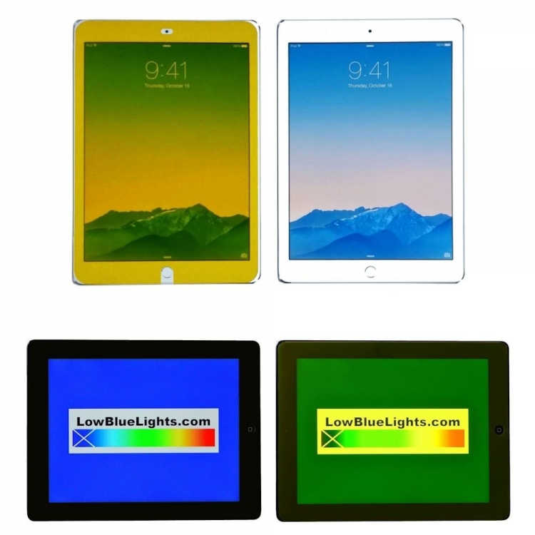 Apple iPad, iPad Pro & iPad Mini 100% Blue-Free Filters